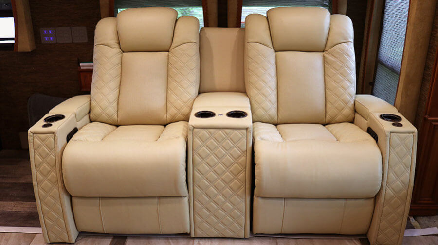 Why Is Your Rv Leather Furniture Peeling And What To Do